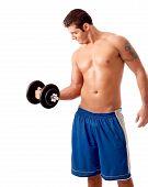 Gewichte zu heben