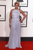 LOS ANGELES - FEB 8:  Mary J. Blige at the 57th Annual GRAMMY Awards Arrivals at a Staples Center on February 8, 2015 in Los Angeles, CA