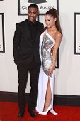 LOS ANGELES - FEB 8:  Big Sean, Arianne Grande at the 57th Annual GRAMMY Awards Arrivals at a Staples Center on February 8, 2015 in Los Angeles, CA