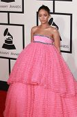 LOS ANGELES - FEB 8:  Rihanna at the 57th Annual GRAMMY Awards Arrivals at a Staples Center on February 8, 2015 in Los Angeles, CA