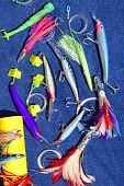 Big Game Fishing Lures Hook For Tuna Marlin
