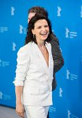 BERLIN, GERMANY - FEBRUARY 05: Juliette Binoche attend the 'Nobody Wants the Night', photo call. 65th Berlinale International Film Festival at Grand Hyatt Hotel on February 5, 2015 in Berlin, Germany.