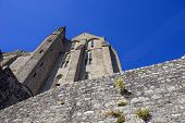 mont  saint michel monastery in brittany, France