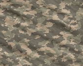 picture of camoflage  - a modern digital camoflage pattern material background - JPG