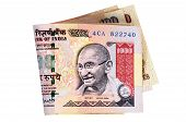 Indian Rupee Currency Bills