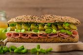Baguette With The Prague Ham