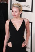 LOS ANGELES - FEB 8:  Miley Cyrus at the 57th Annual GRAMMY Awards Arrivals at a Staples Center on February 8, 2015 in Los Angeles, CA