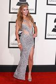 LOS ANGELES - FEB 8:  Paris Hilton at the 57th Annual GRAMMY Awards Arrivals at a Staples Center on February 8, 2015 in Los Angeles, CA
