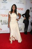 LOS ANGELES - FEB 6:  Omarosa Manigault at the 46th NAACP Image Awards Arrivals at a Pasadena Convention Center on February 6, 2015 in Pasadena, CA