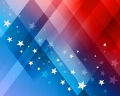 stock photo of glory  - Fireworks background for 4th of July Independense Day - JPG