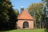 Pequena capela alemã em Landstuhl