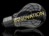 picture of lightbulb  - Innovation  - JPG