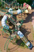 foto of playground  - Top view of the children - JPG