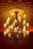 elegant crystal chandelier