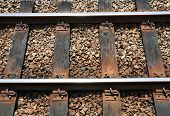 Eisenbahn-Nahaufnahme