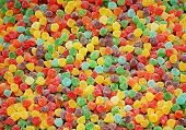 coloful candy background