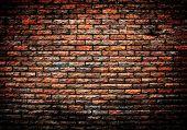 Grunge Ziegelmauer