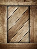 wooden box background