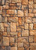 Постер, плакат: каменная стена