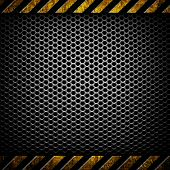 picture of safety barrier  - metal template background - JPG