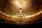 image of flambeau  - grunge chandelier - JPG