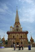 Temple At Wat Chalong, Phuket, Thailand