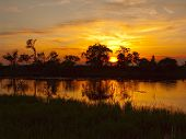 Sunset On The River Tunguska