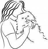 Cuddly Dog