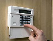Setting An Intruder Alarm