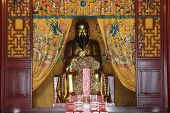 Statue Of Confucius at temple
