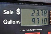 Gas Pump Display