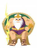 Zeus en blanco