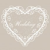 Vector wedding Background