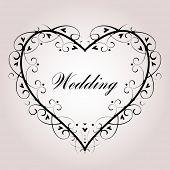 Casamento de vector fundo