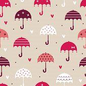 paraguas con el diseño de fondo de pantalla de amor