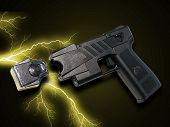 picture of taser  - A photo of a taser gun - JPG