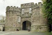 Skipton Castle Gates
