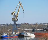 Shipbuilding Crane