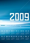 Calendar 2009 - 12 months