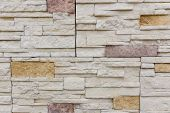 Old Brown Bricks Wall Pattern Brick Wall Texture Or Brick Wall Background Light For Interior Or Exte poster