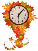 Herbst-Uhr