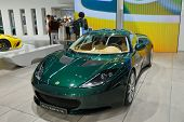FRANKFURT - SEP 17: Lotus Evora Sport car shown at the 64th Internationale Automobil Ausstellung (IA