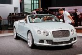 FRANKFURT - SEP 17: Bentley New Continental GTC car shown at the 64th Internationale Automobil Ausst
