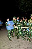Military night training