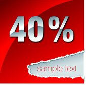 40 percent