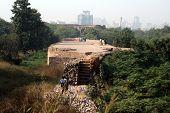 Old Fort Ruins, New Delhi