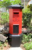 Colonial Pillarbox, A British Colonial Era Post Box In Galle