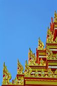 Thai art at Phra Men, Bangkok, Thailand.