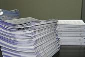 Handout Paper Piles