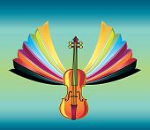 vivid music design vector